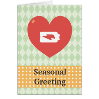 Heart Recharging Cards