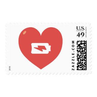 Heart Recharging Postage