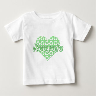 Heart Recycle Baby T-Shirt