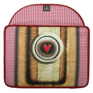 Heart Red Gingham Rickshaw Flap Sleeve