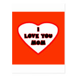Heart Red Orange Transp Filled The MUSEUM Zazzle G Postcard