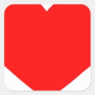 heart-red.png pegatina cuadrada