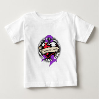 Heart Ribbon - Pancreatic Cancer Infant T-shirt