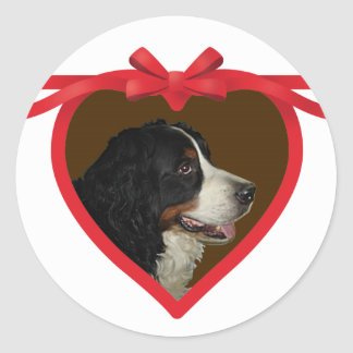 Heart Ribbon Photo Frame Sticker