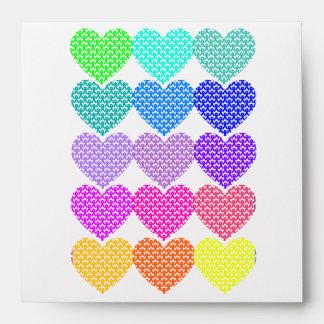Heart Ribbon Support - Envelope