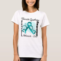 Heart Ribbon - Tourette Syndrome Awareness T-Shirt