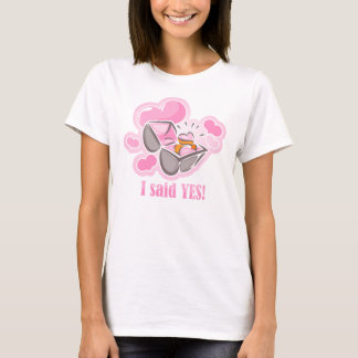 Heart Ring I Said Yes T-Shirt