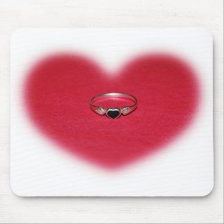 Heart Ring Mousepad