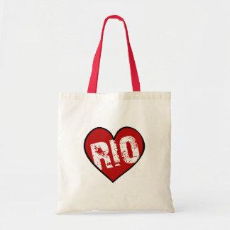 HEART RIO CANVAS BAG