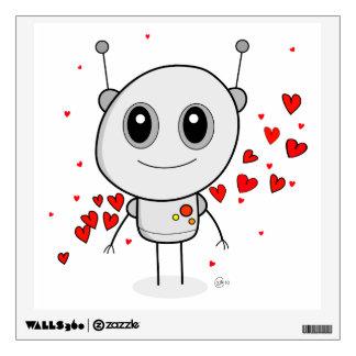 Heart Robot - Wall Decal