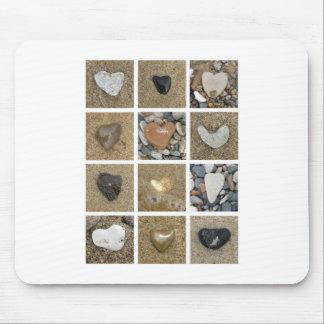 Heart Rocks Mouse Pad