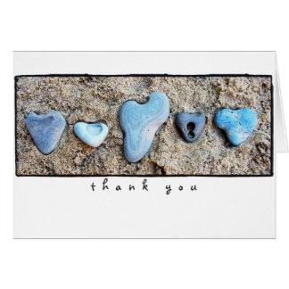 heart rocks thank you notes