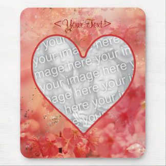 Heart Romance Mousepad- Template Mouse Pad
