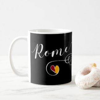 Heart Rome Mug, Italy, Italian Coffee Mug