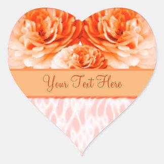 Heart Rose Heart Sticker
