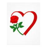 Heart & Rose Letterhead