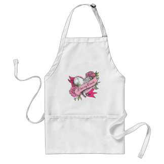 Heart & Roses Adult Apron
