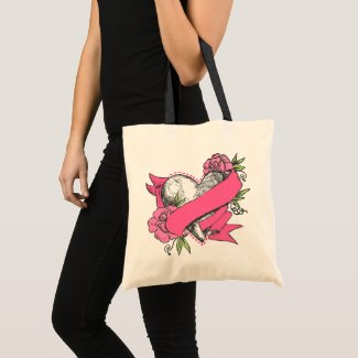 Heart & Roses bag