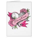Heart & Roses Card