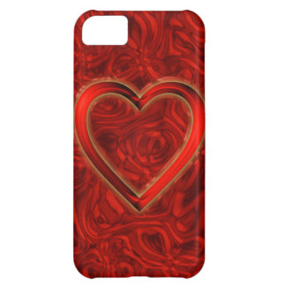 Heart & Roses iPhone 5C Cases