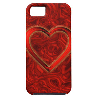 Heart & Roses iPhone SE/5/5s Case