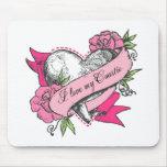 Heart & Roses Mousepads