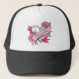 Heart & Roses Trucker Hat