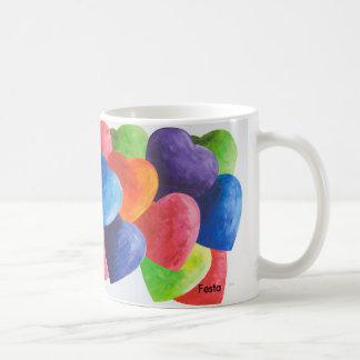 """Heart""""s for you mug"""