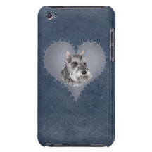 Heart Schnauzer iPod Touch Cover