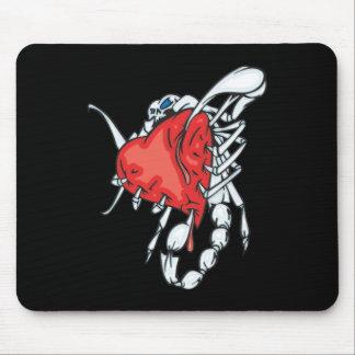 Heart Scorpion Mouse Pad