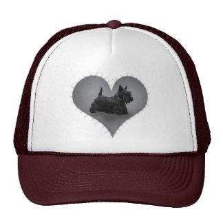 Heart Scottie Trucker Hat
