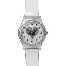 Heart Scottie Wrist Watches