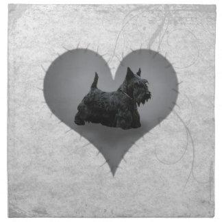 Heart Scottiie Napkins