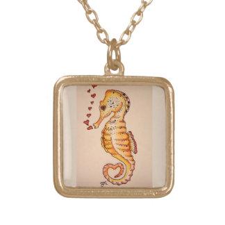 Heart Seahorse Necklace