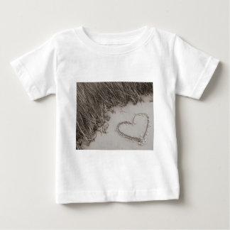 Heart Sepia Image Baby T-Shirt