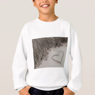 Heart Sepia Image Sweatshirt