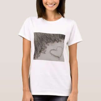 Heart Sepia Image T-Shirt