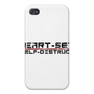 Heart-Set Self-Destruct iPhone 4 Case
