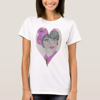Heart Shape 60s Model T-Shirt