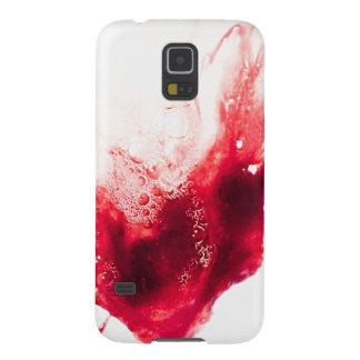 Heart Shape Blood Splatter Galaxy S5 Case