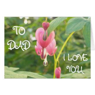 Heart shape Flowers Cards