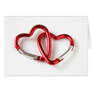 Heart shape key chain. Love Card