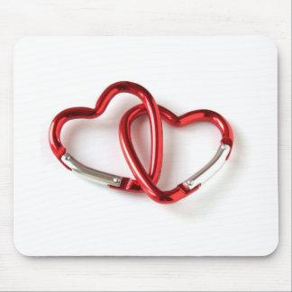 Heart shape key chain. Love Mouse Pad