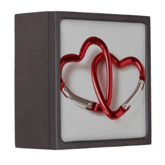 Heart shape key chain. Love Premium Jewelry Boxes