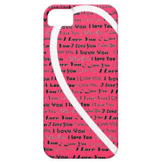 Heart Shape left and right Side iPhone SE/5/5s Case
