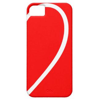 Heart Shape Left Side iPhone SE/5/5s Case