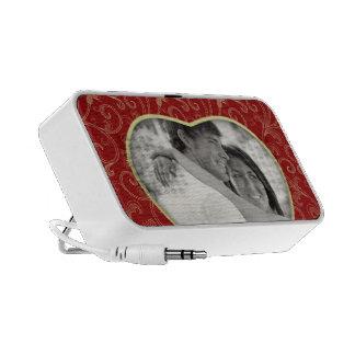 Heart Shape Photo iPhone Speaker