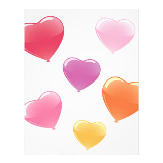 Heart Shaped Balloons Flyer
