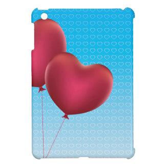 Heart Shaped Balloons iPad Mini Covers