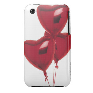 Heart-shaped balloons iPhone 3 cover